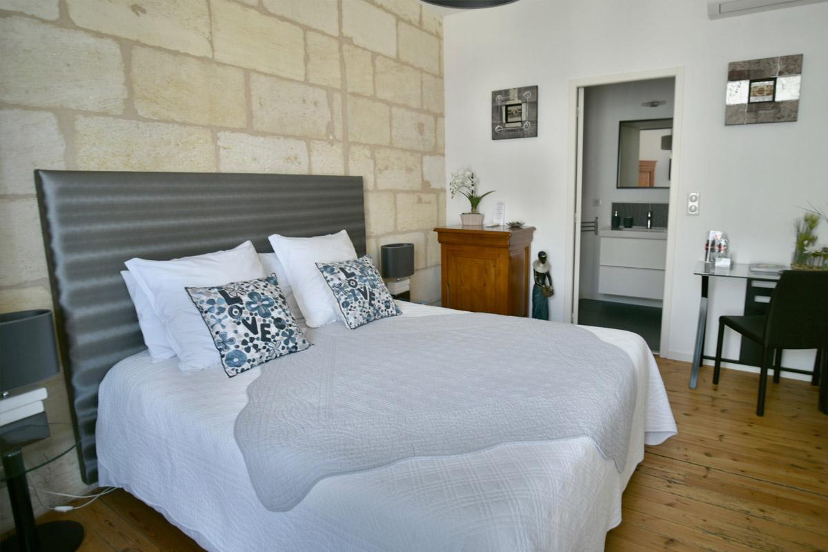 Chambres d'Hôtes à Bordeaux - Chambre Perle