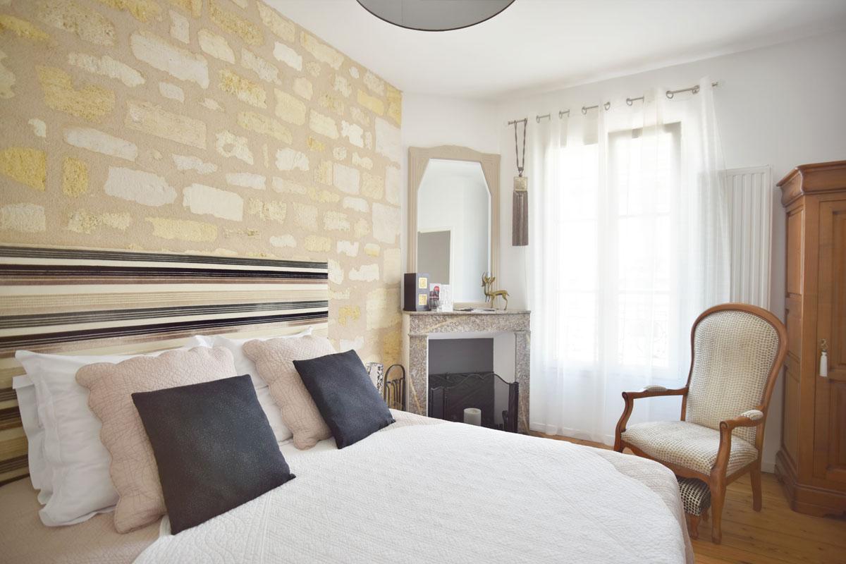 Chambres d'Hôtes à Bordeaux - Chambre Sable